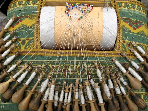 Lace making is one of the industries of Le Puy-en-Velay