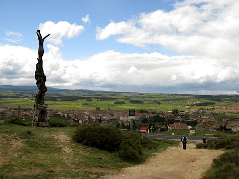 Monument and Saugues