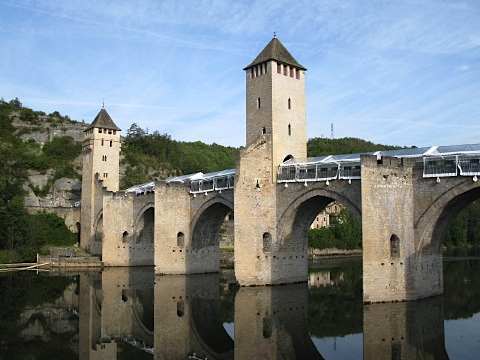 Pont Valentré over the River Lot