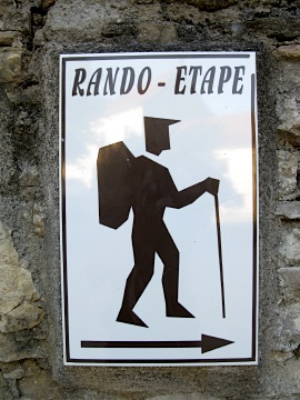 Rando-Etape is a basic type of accommodation for walkers