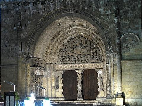The Portal of the Apocalypse Abbey Church of Saint-Pierre