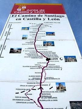 Entering Castilla y Leon