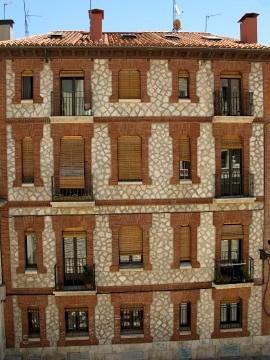 Old apartment block