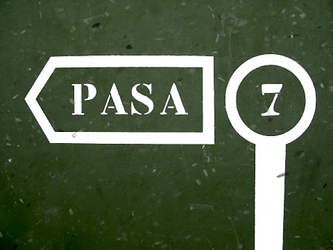 Pelota court markings that I don't understand