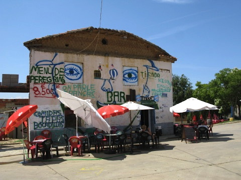 The bar in the centre of Reliegos