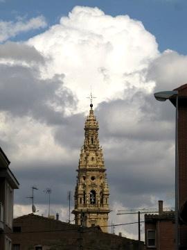 The cathedral in Santo Domingo de la Calzada