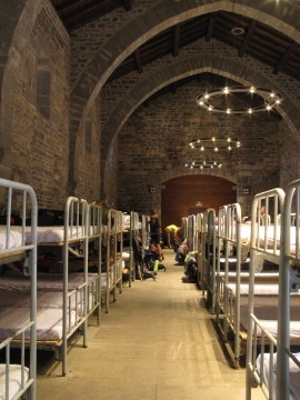 The dormitory at Roncesvalles