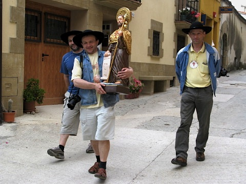 The three Polish pilgrims