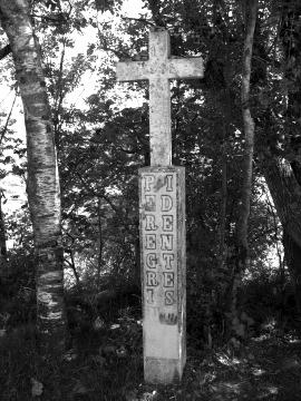 A cross in O Cebreiro