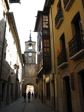 Passing through Ponferrada