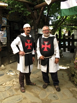 Templar knights in Manjarin