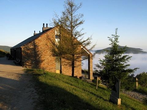The albergue in O Cebreiro
