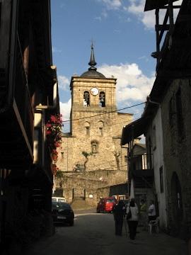 The church in Molinaseca