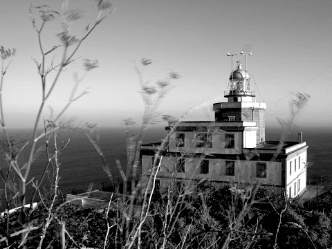 The lighthouse at Cape Finisterre