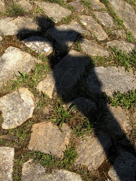 The shadow of the Cross of the Armada