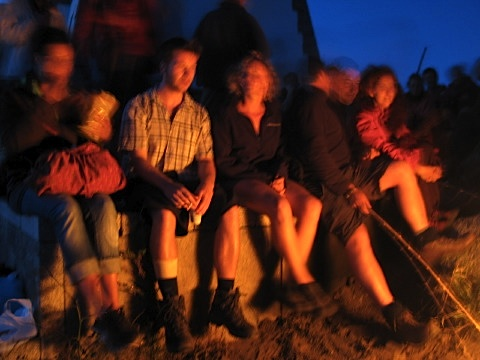 Walkers burn past memories at the Cape