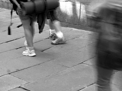 Walkers arrive in Santiago de Compostela