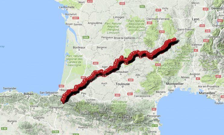 The route to Santiago de Compostela | Dusty Track